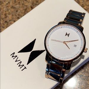 MVMT Ladies Wristwatch in rose gold